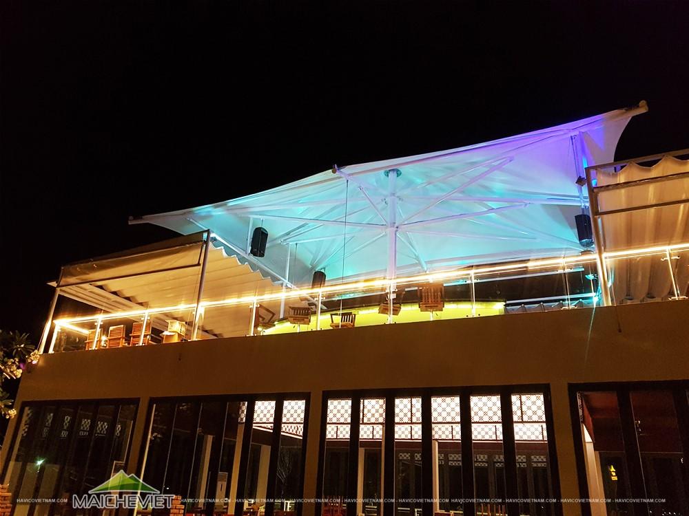 Mái che nhà hàng MP thai Seafood Restaurant – Nha Trang