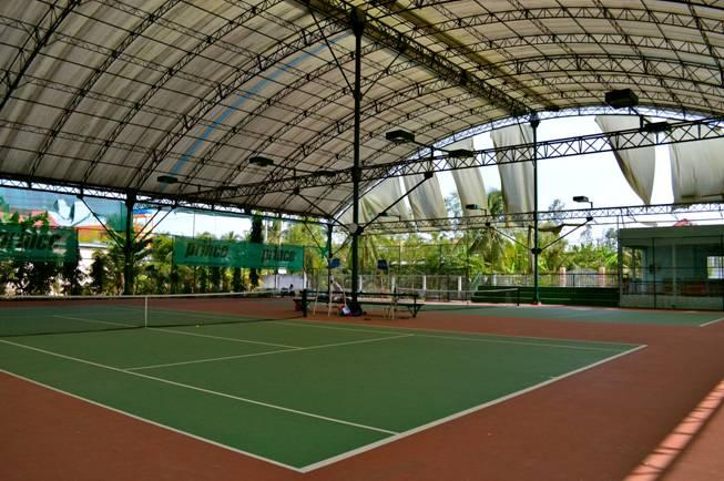 Các lưu ý khi thi công mái che sân tennis chất lượng