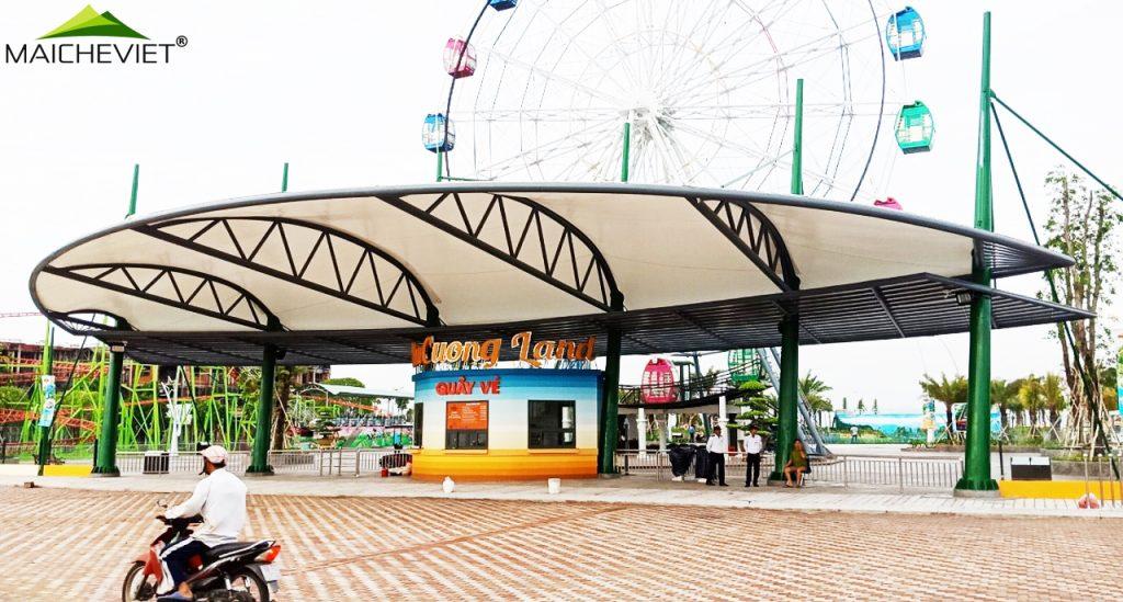 quầy vé khu vui chơi tại Phú Cường - TP. Rạch Giá - Kiên Giang
