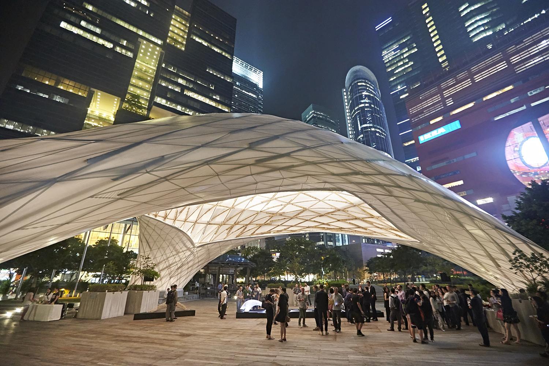 Sử dụng cấu trúc tre và vải bạt tạo nên những công trình độc đáo- xu hướng mới trong xây dựng