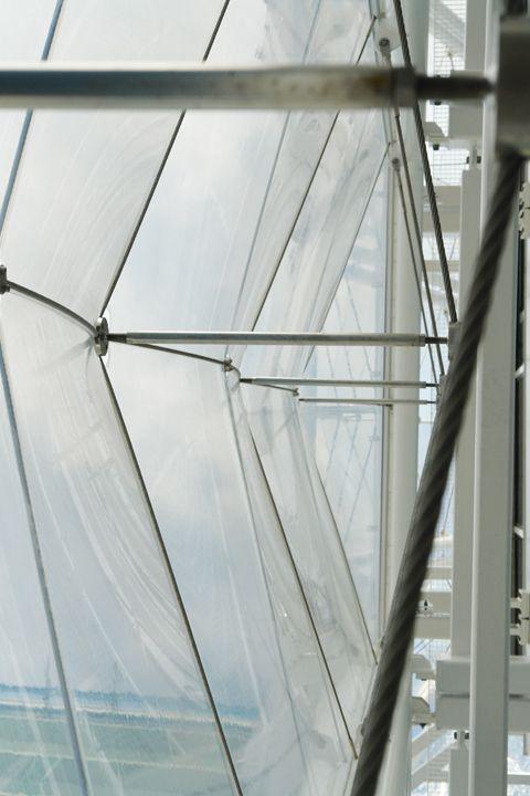 Vật liệu màng căng ETFE là gì? Đặc điểm của ETFE: