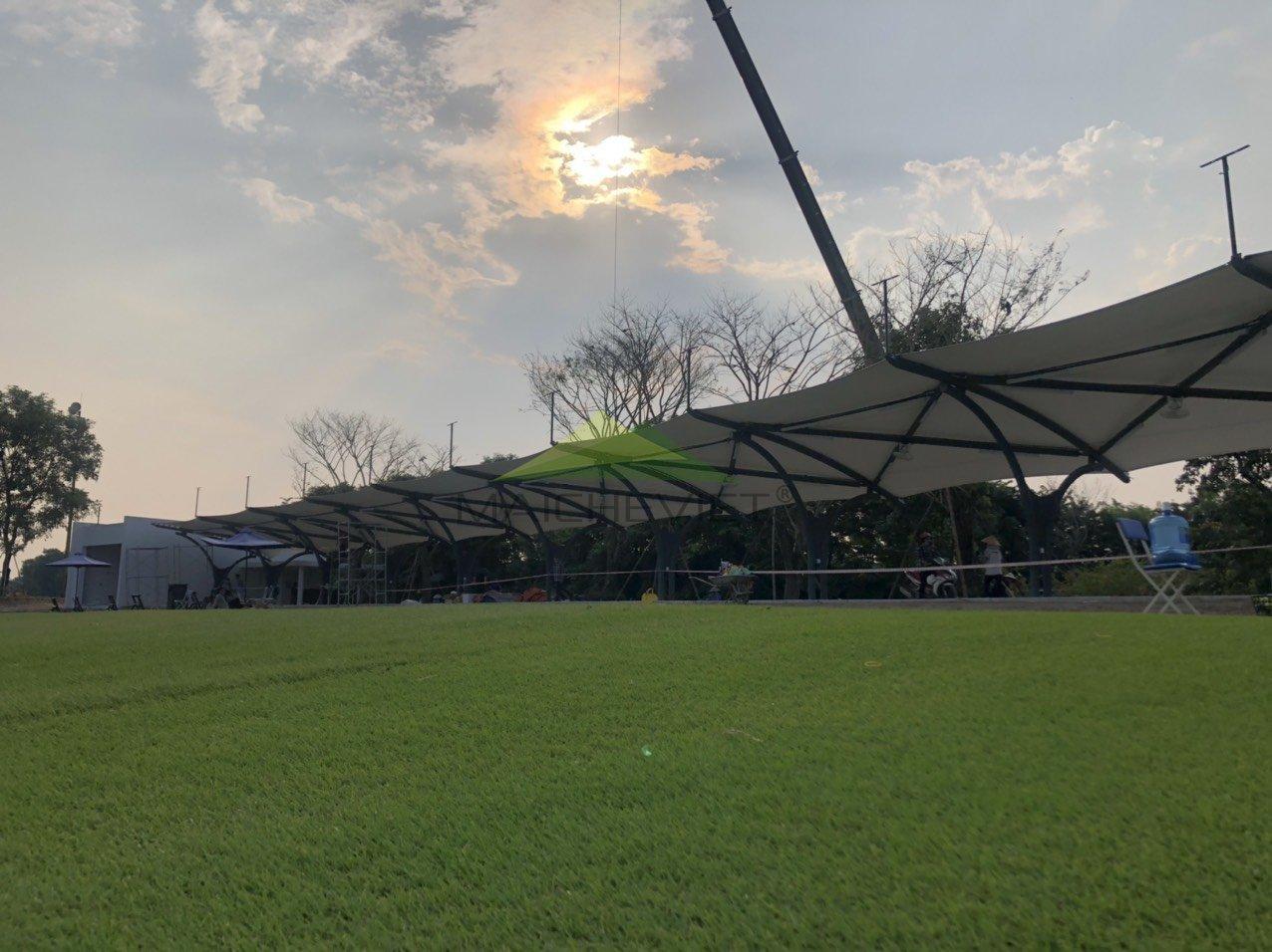 mái che sân golf Ecopark Hưng Yên